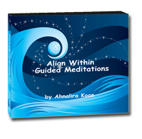 Align Within Guided Meditations CD